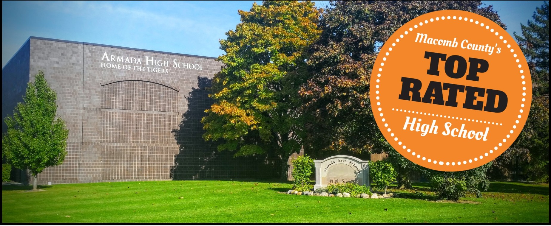 Armada High School Ranked #1 in Macomb County For A Third Straight Year!