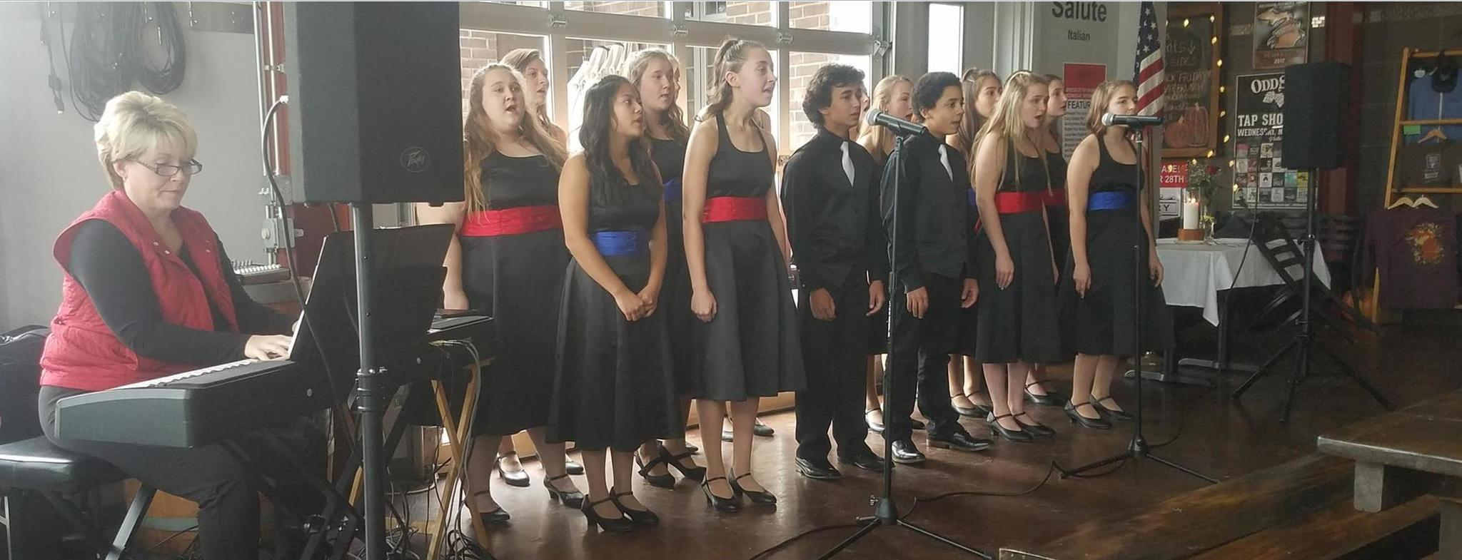 Armada High School Choir Performs at the Brown Iron Veteran's Day Luncheon