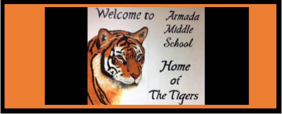 Welcome to Armada Middle School - Home of the Tigers