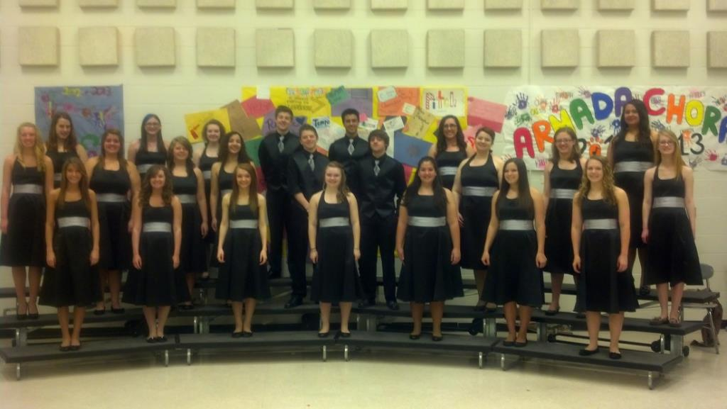 Picture of the Armada High School Choir