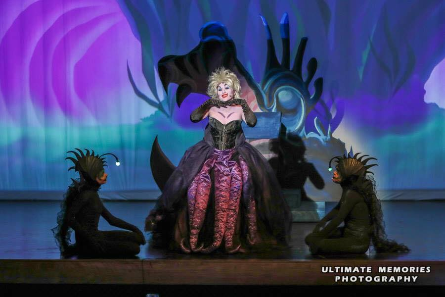 Picture from Little Mermaid Performance