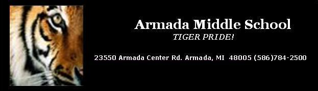 Armada Middle School 23550 Armada Center Road, Armada, Michigan 48005, Phone number 586-784-2500