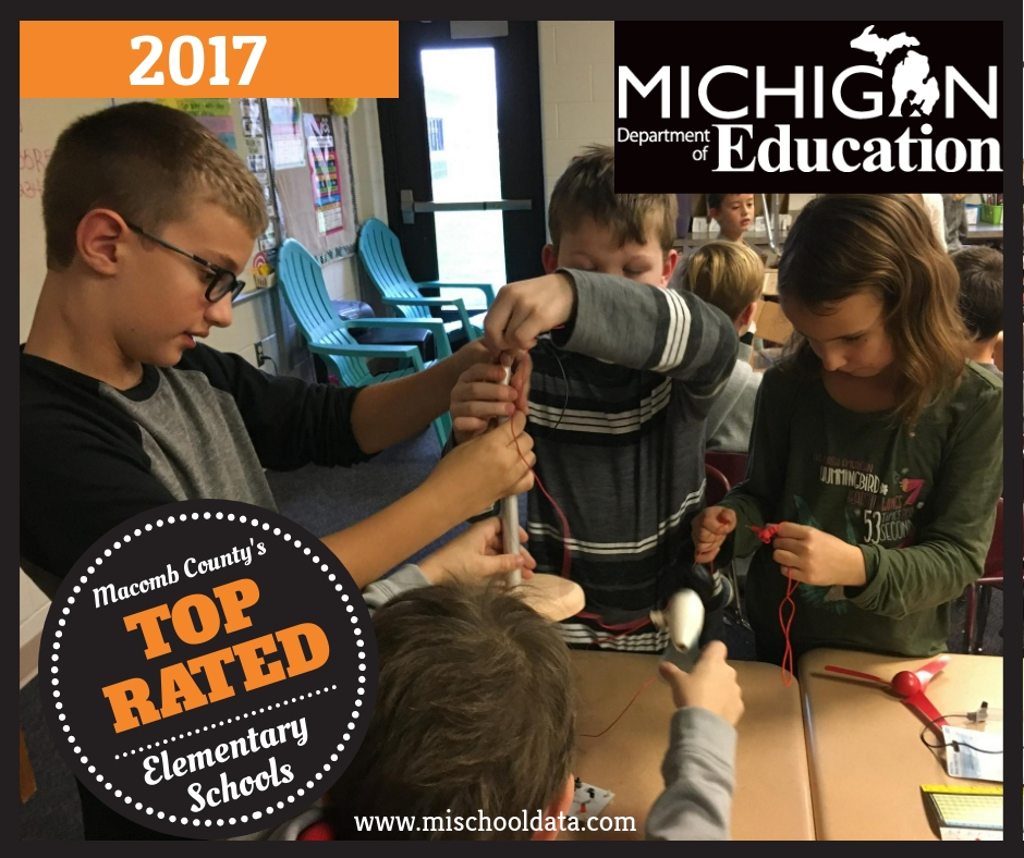 Elementary School is rated one of the best schools in Michigan.